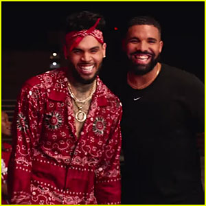 Chris Brown & Drake Face Off in Hilarious 'No Guidance