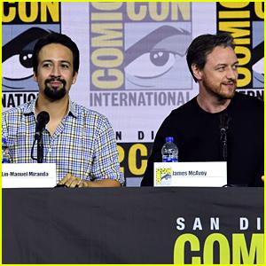 Lin-Manuel Miranda & James McAvoy Talk Up 'His Dark Materials' at San Diego Comic-Con 2019