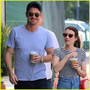 Emma Roberts & Garrett Hedlund Kick Off the Weekend With a Coffee Date