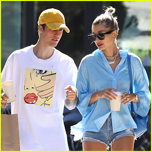 Justin & Hailey Bieber Wait for Tables at Sugarfish Like Everyone Else!