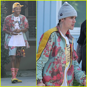 Jaden Smith & Justin Bieber Film a Music Video Together in LA