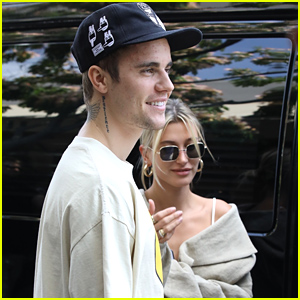 Justin Bieber Joins Wife Hailey For Lunch Date in Beverly Hills
