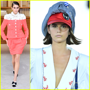 Kaia Gerber Is Super Stylish During Chanel & Miu Miu Club Shows in Paris