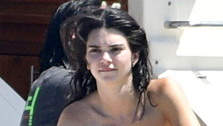 kendall jenner bares her bikini body in corsica