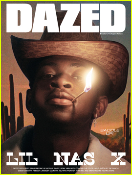 Lil Nas X Covers 'Dazed' Goes West Country Issue