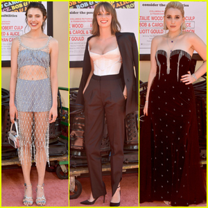 Margaret Qualley, Maya Hawke & Harley Quinn Smith Get Glam For 'Once Upon a Time in Hollywood' Premiere