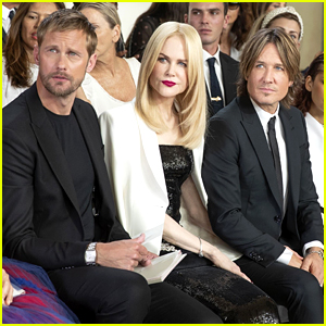 Nicole Kidman Attends Armani Show with Her Real Husband & Her TV Husband!