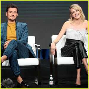 Orlando Bloom & Cara Delevingne Talk About 'Carnival Row' & How It Relates to Immigration