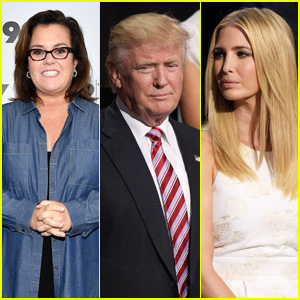 Rosie O'Donnell Thinks Donald Trump Has Been 'Doing Bad Things' With His Daughter Ivanka Trump