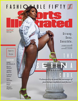 Serena Williams Covers 'Sports Illustrated' Fashionable 50 Issue!