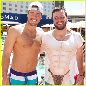 Shirtless Colton Underwood Celebrates Brother's Bachelor Party in Vegas!