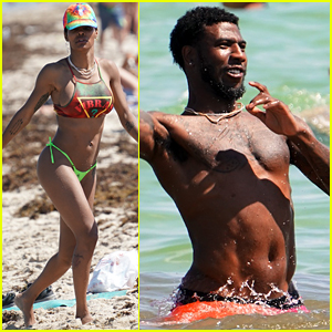 Teyana Taylor Spends July Fourth in a Bikini With Shirtless Iman Shumpert