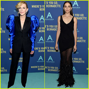 Cate Blanchett & Troian Bellisario Premiere 'Where'd You Go, Bernadette' in NYC