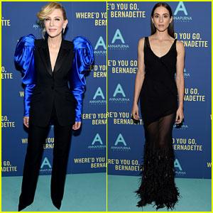 Cate Blanchett & Troian Bellisario Premiere 'Where'd You Go, Bernadette' in NYC