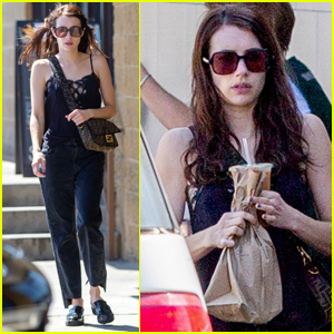 Emma Roberts Spends Her Afternoon Running Errands in Los Feliz