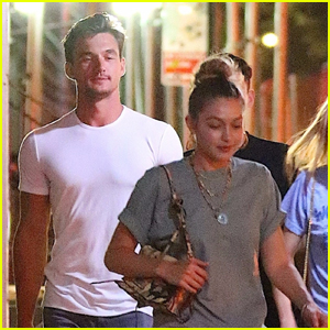 Gigi Hadid Enjoys a Night Out with Tyler Cameron in NYC!