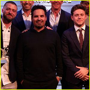 Justin Timberlake Wins Omega Celebrity Masters Trophy for Best Score!