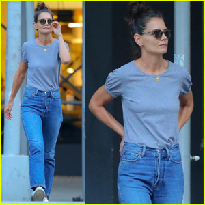 Katie Holmes Spends the Day With Suri After Jamie Foxx Split