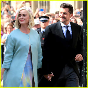 Katy Perry & Orlando Bloom Couple Up at Ellie Goulding's Wedding!