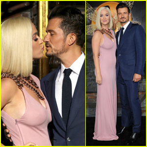 Katy Perry Supports Fiance Orlando Bloom at 'Carnival Row' Premiere