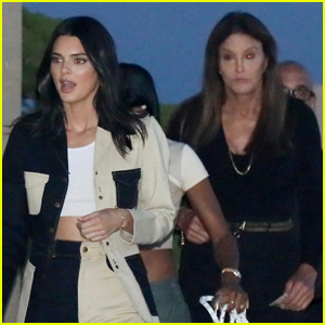 Kendall Jenner Grabs Dinner with Caitlyn Jenner in Malibu!