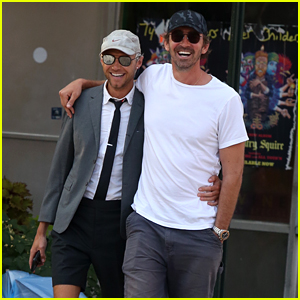 Lee Pace & Boyfriend Matthew Foley Couple Up for NYC Stroll!