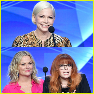 Michelle Williams, Amy Poehler, & Natasha Lyonne Attend TCA Awards 2019