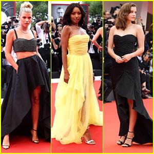 Sofia Richie Wears Gorgeous Two Piece Gown to Venice Film Festival 2019