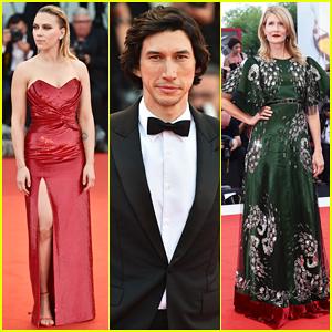 Scarlett Johansson & Adam Driver Premiere 'Marriage Story' at Venice Film Festival 2019!