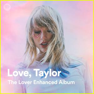 Taylor Swift Shares New Lyrics on 'Love, Taylor' Spotify Playlist!