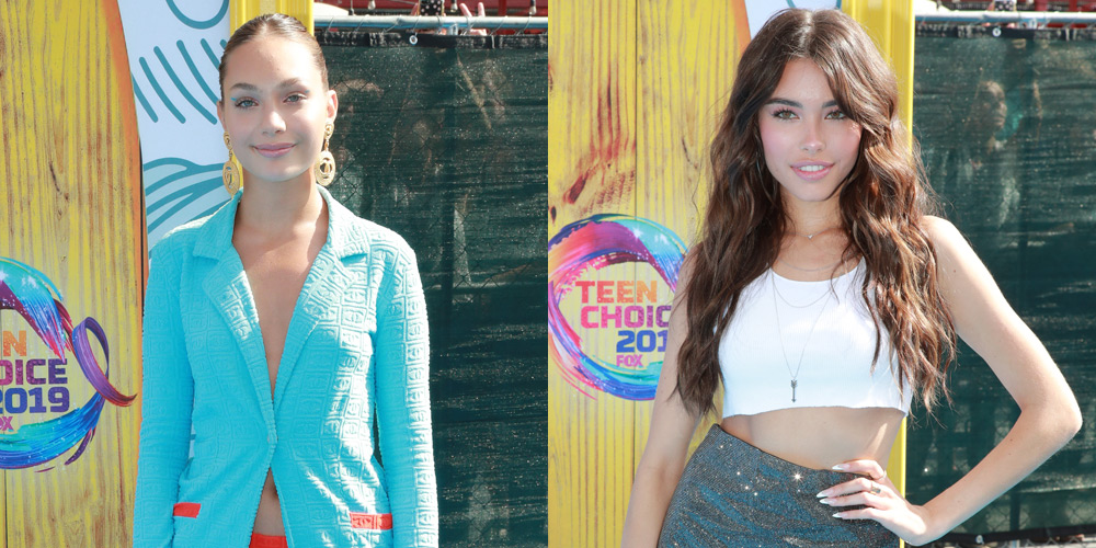 Maddie Ziegler & Madison Beer Rock Chic Outfits at Teen