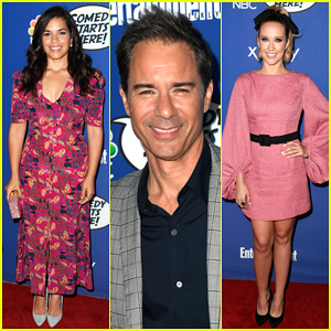America Ferrera & Anna Camp Step Out for NBC's Comedy Starts Here Party!