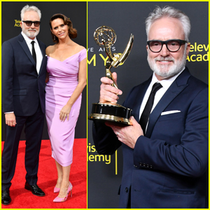 Amy Landecker Supports New Husband Bradley Whitford at Creative Arts Emmys 2019!