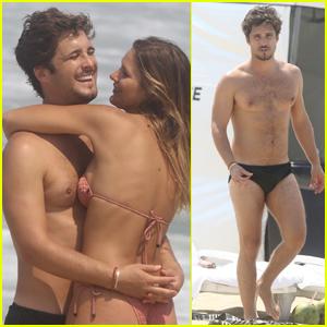 Diego Boneta Goes Shirtless, Packs on PDA with Girlfriend Mayte Rodriguez in Brazil!