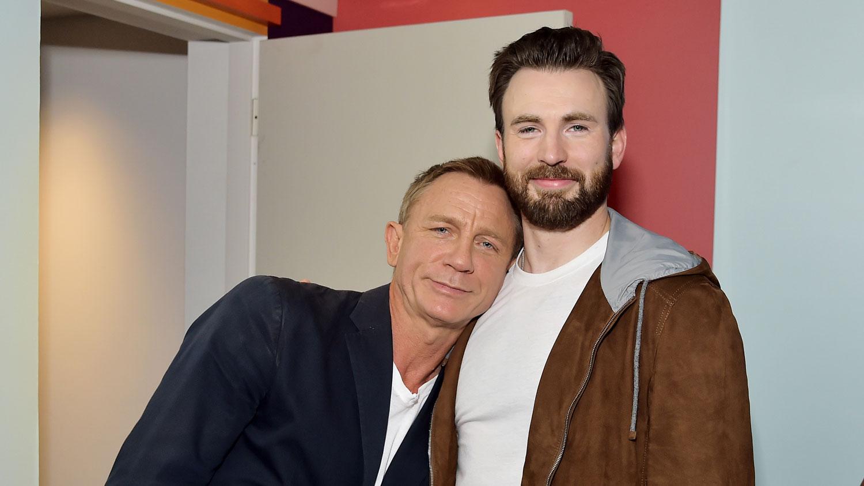Chris Evans & Daniel Craig Buddy Up at TIFF 2019!
