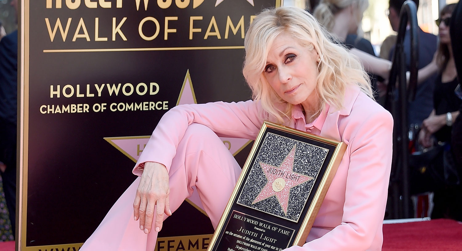 Judith Light Finally Gets Star on Hollywood Walk of Fame, So Many Celebs Show Up for Support!