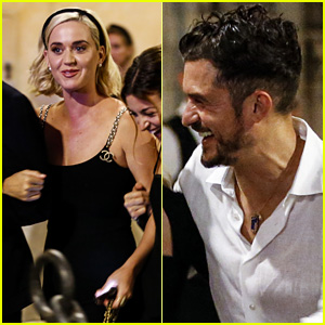 Katy Perry & Orlando Bloom Enjoy a Night Out Together in Rome!