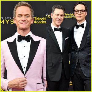 Neil Patrick Harris Joins Jim Parsons & Husband Todd Spiewak at Creative Arts Emmys 2019