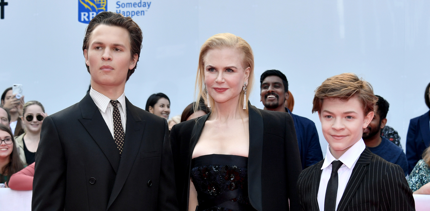 Nicole Kidman Joins 'The Goldfinch' Sons Ansel Elgort
