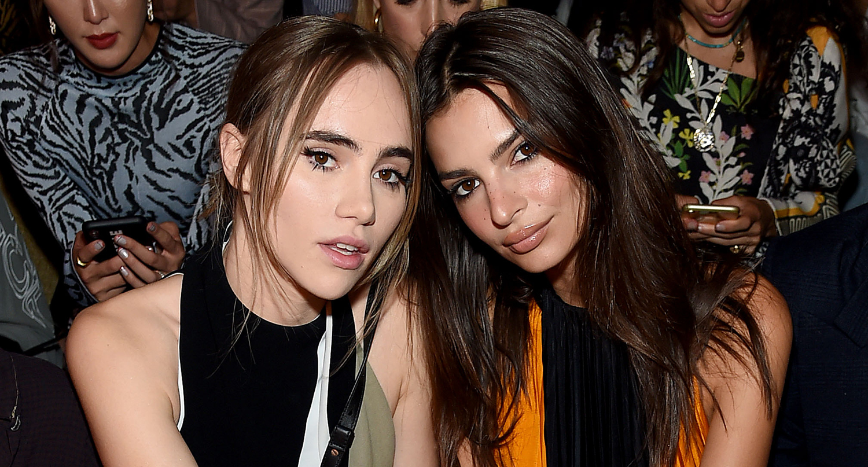 Suki Waterhouse & Emily Ratajkowski Sit Front Row at Proenza Schouler Fashion Show