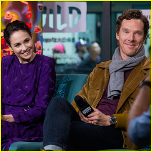 Benedict Cumberbatch & Tuppence Middleton Promote 'The Current War' in NYC