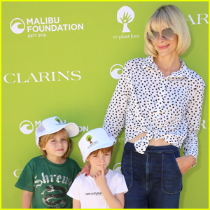 Jaime King Brings Her Kids to Re-Plant Love Event Hosted by Malibu Foundation!