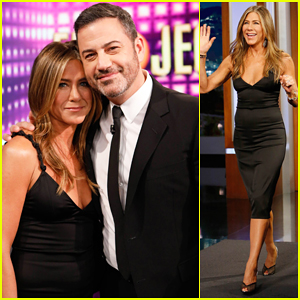 Jennifer Aniston Tells Kimmel She Was Most Reluctant