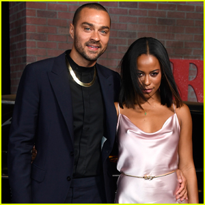 Jesse Williams & Girlfriend Taylour Paige Couple Up For 'The Irishman' Premiere