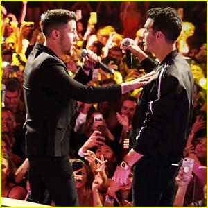 Jonas Brothers Reunite with Diplo for a Fun Night in Vegas