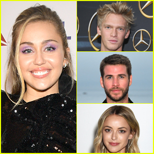Miley Cyrus Comments on a Photo Featuring Cody Simpson, Liam Hemsworth, & Kaitlynn Carter