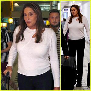Caitlyn Jenner Arrives in Australia for 'I'm a Celebrity 2019'
