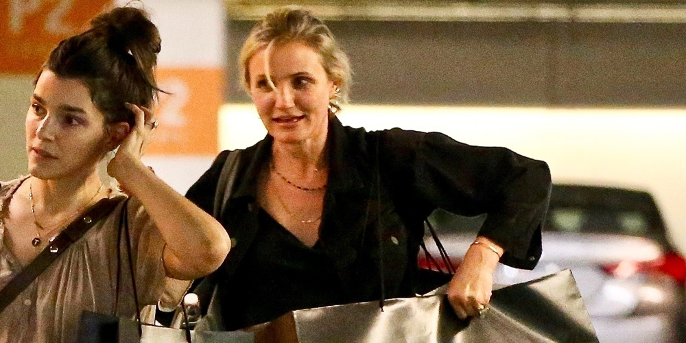 Cameron Diaz Gets Some Shopping Done at Barneys New York!