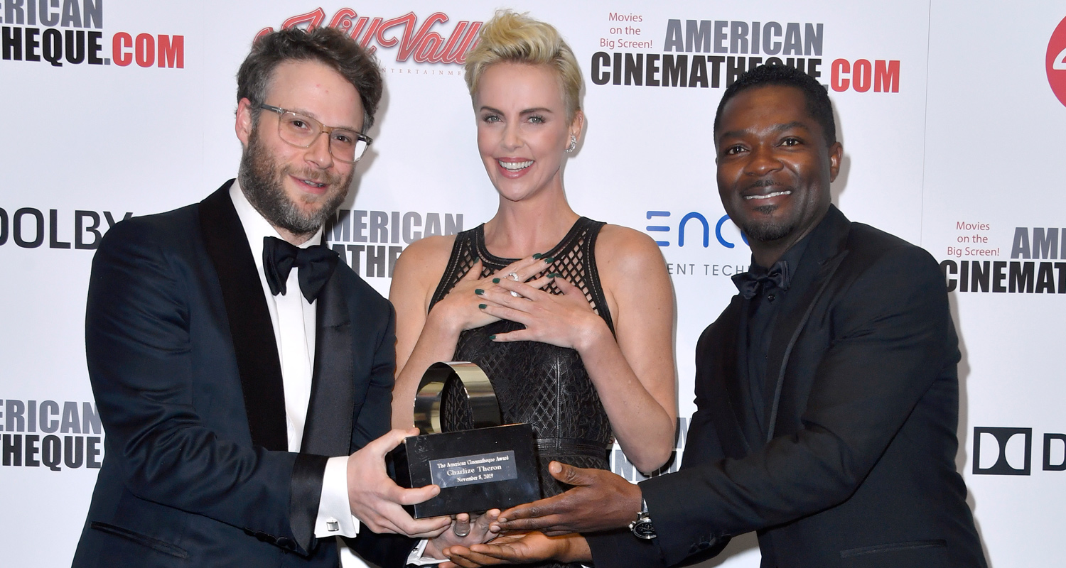 Charlize Theron Gets Honored With American Cinematheque Award!