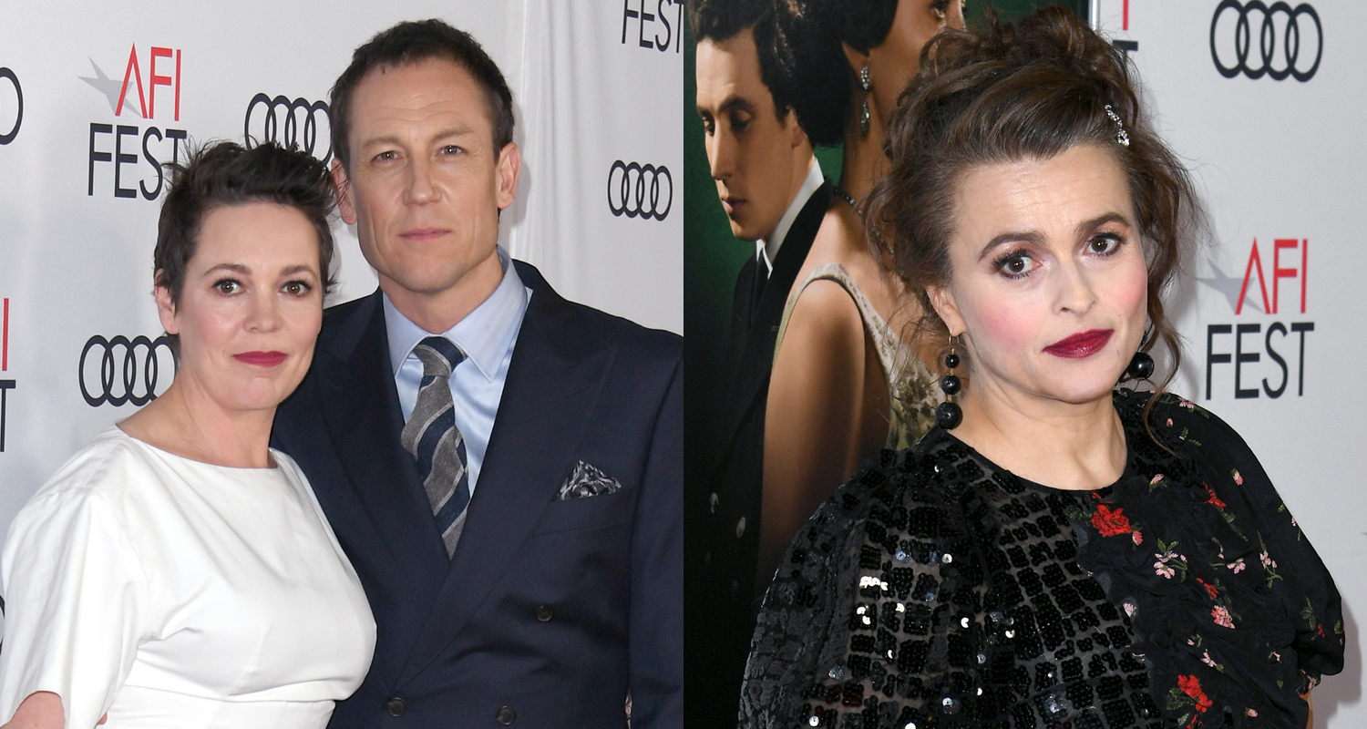 Olivia Colman, Tobias Menzies, & Helena Boham Carter Bring 'The Crown' to AFI Fest 2019